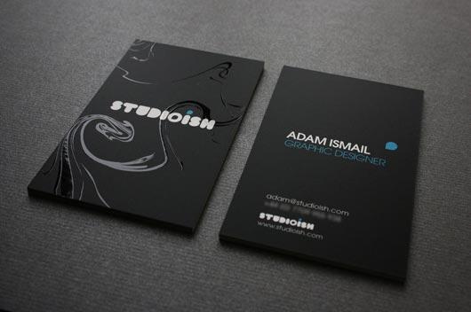 Siyah kartvizit tasar mlar murat tekmen - Creative names for interior design business ...